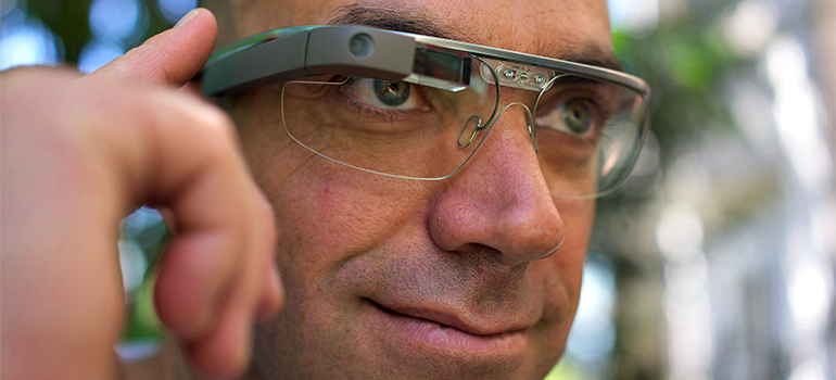 Wearable technology like Google Glass raises concerns about privacy. Photo: Loic Le Meur, Flickr.