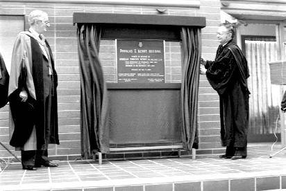 Opening of Douglas Kenny Building