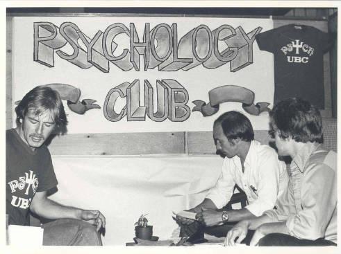 The Psychology Club, circa 1970s