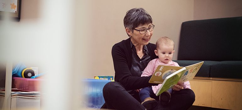 Dr. Janet Werker in the UBC Infant Studies Centre. Photo: Martin Dee