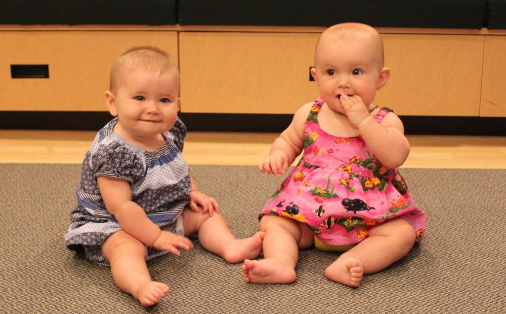 Infants as young as six months understand social dominance. Photo: Centre for Infant Cognition
