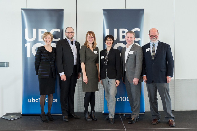 2016 UBC Research Awards Reception. Photo: photo credit: Don Erhardt Photography